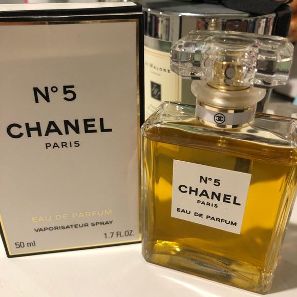 Chanel Accessories N 5 Parfum 17 Floz With Box Poshmark